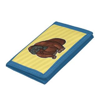 Sumatran Orangutan Tri-fold Wallets