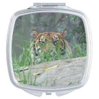 Sumatran Tiger Compact Mirror
