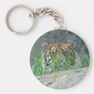 Sumatran Tiger Key Ring