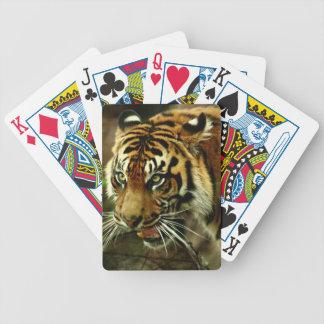 Sumatran Tiger Playing Cards