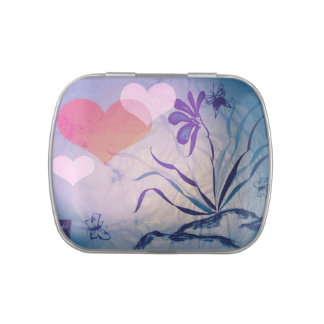 Sumi-e Orchid Candy Tin
