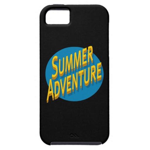 Summer Adventure iPhone 5 Cases