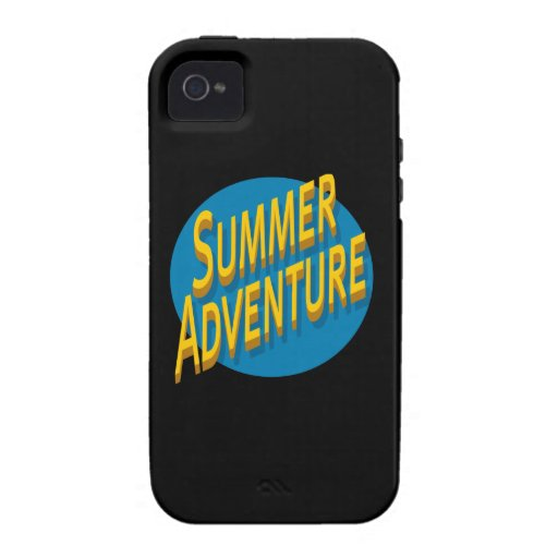 Summer Adventure iPhone 4/4S Covers
