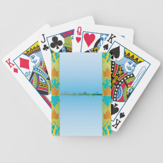 Summer At The Lake Bicycle Playing Cards