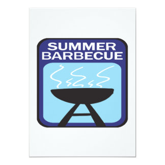Summer Barbecue Card
