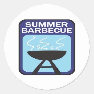 Summer Barbecue Sticker
