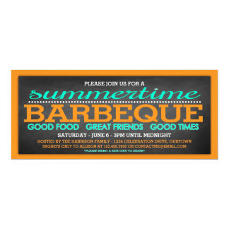 Summer Barbeque Party Card