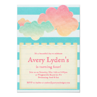 SummeR Beach Pool Party Baby Shower Bridal Invite
