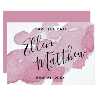 Summer Berry  - Save The Date Card