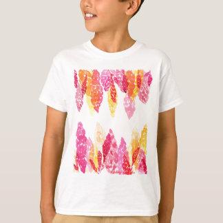 Summer Blooms - Floral Snapdragons - Pink, Orange T-Shirt