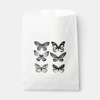Summer butterflies wedding edition favour bags