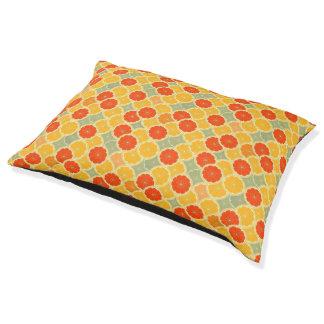 Summer Citrus Pet Bed