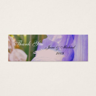 Summer Dream Wedding Mini Business Card