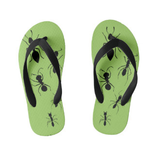 Summer Garden Party Crawling Picnic Ants Thongs