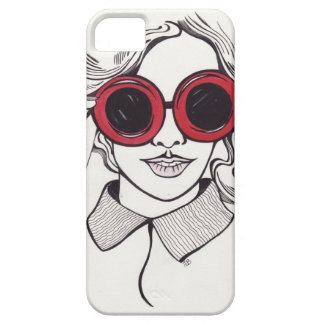 summer girl illustration case for the iPhone 5