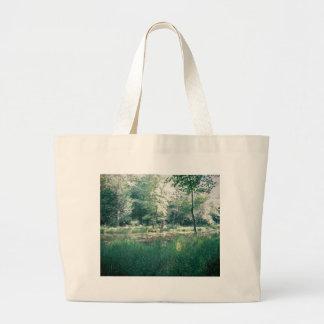 Summer hike large tote bag