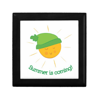 Summer is Coming Small Square Gift Box