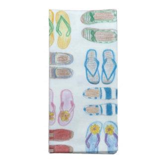 Summer is for Sandals Cloth Napkin Set