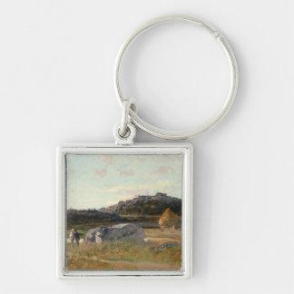 Summer Landscape 2 Key Ring