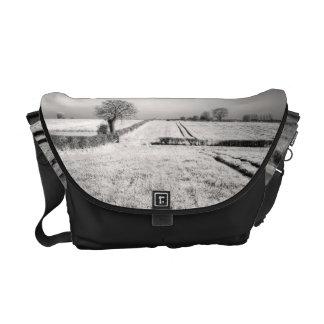 Summer Lines Landscape Messenger Bag