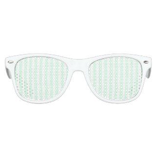 Summer Mint Pale Green Mint & White Stripe