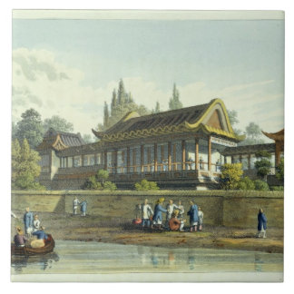 Summer Palace of the Emperor, Opposite the City of Large Square Tile