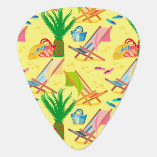 Summer passion guitar pick