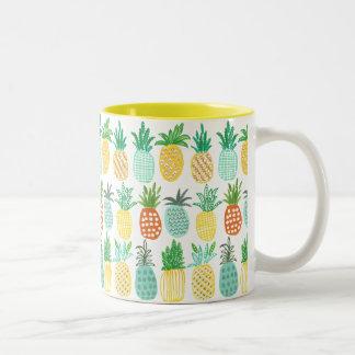 Summer Pineapple pattern Tropical | Mug