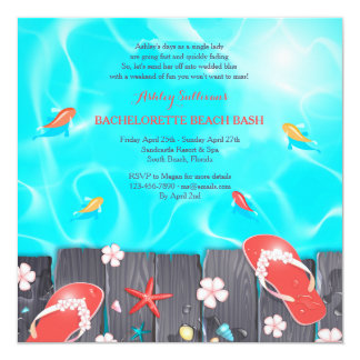 Summer Splash Invitation