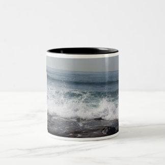 Summer Splash Two-Tone Coffee Mug
