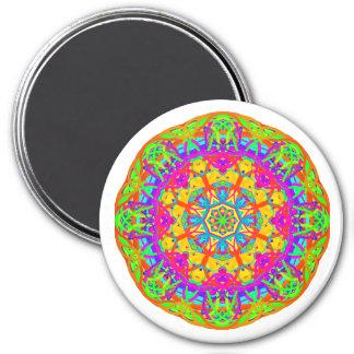 Summer Sun Mandala Style Magnet