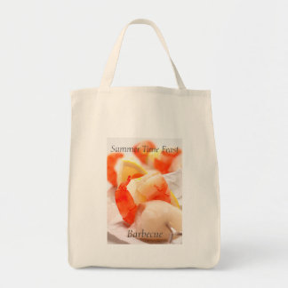 Summer Time Feast. Barbecue Tote Bag