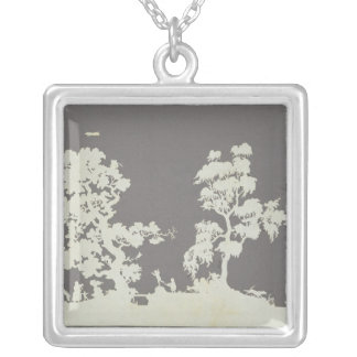 Summer's Day Silver Plated Necklace