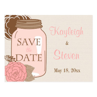 Summer's Dream Save the Date Postcard