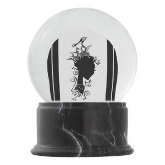 Summer's Phantom Snow Globe