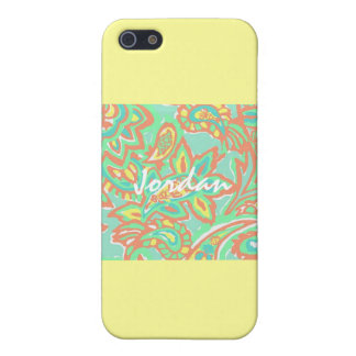 Summertime Lilly Inspired Case Iphone 5s iPhone 5/5S Cover