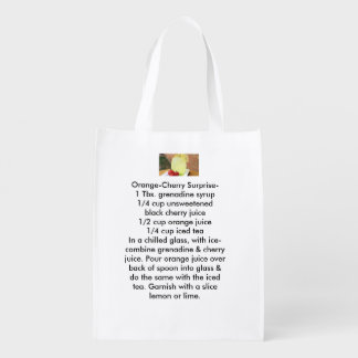 Summery Citrus Weight loss reusable tote bags