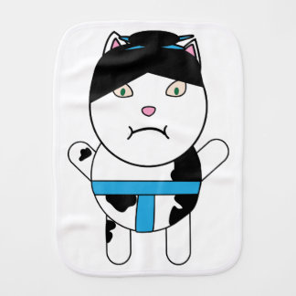 Sumo Kitty Burp Cloth