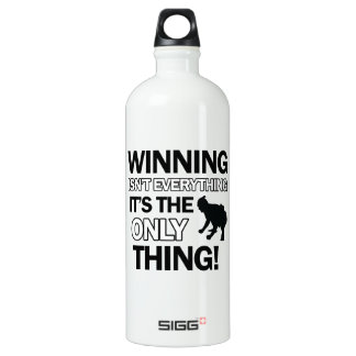sumo wrestle design water bottle