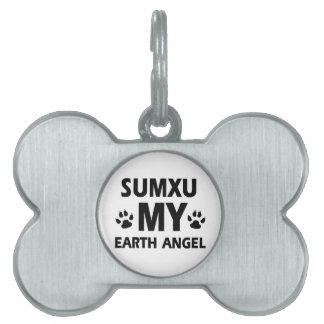 SUMXU cat design Pet Name Tags