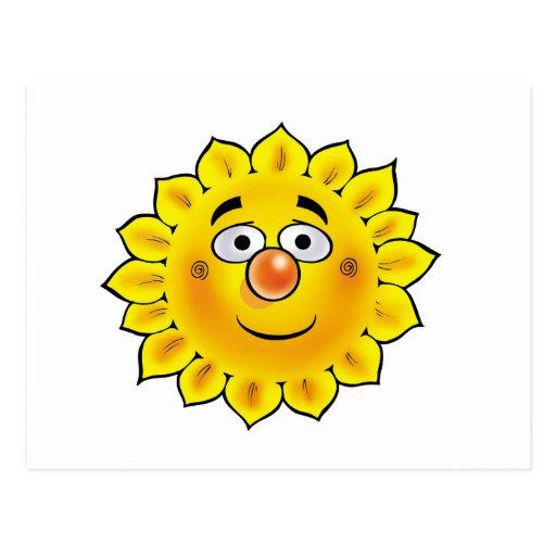 Sun 01 post card
