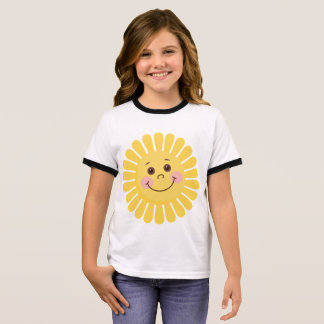 Sun and Moon Ringer T-Shirt