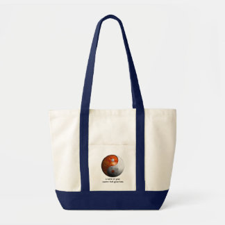 Sun and Moon Yin Yang Tote Bag