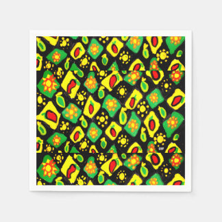 Sun and peppers paper serviettes