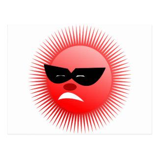 sun  emotion postcard