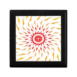sun fire ball small square gift box