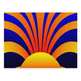 Sun Graffiti Postcard