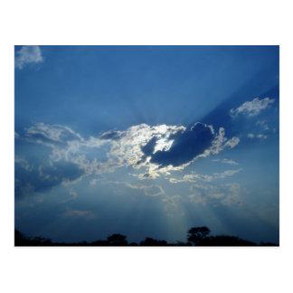 Sun in the Clouds Postcard