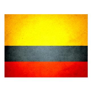 Sun kissed Colombia Flag Postcard