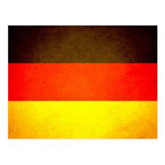 Sun kissed Germany Flag Post Card